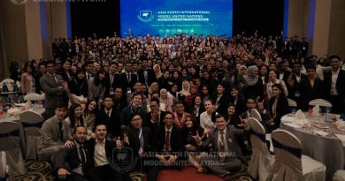 Mahasiswa Pascasarjana Unas Jadi Delegasi di Asia Youth International Model United Nations, Malaysia