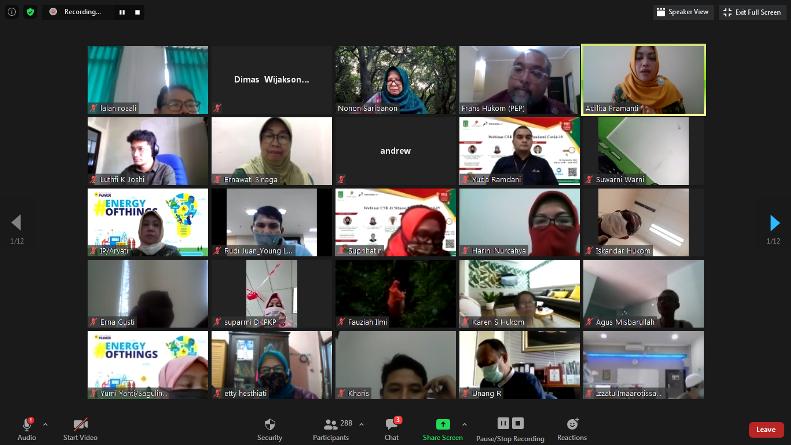 webinar CSR di situasi pandemi covid-19, Jumat (4/9), di Jakarta.