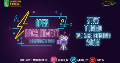 Open Recruitment Crew UNAS TV 2020