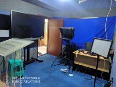 Ruang Rekaman Team MPR Unas