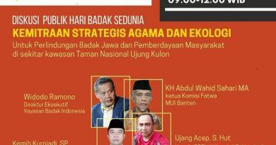 Hari Badak Sedunia, Upaya Perlindungan dan Pelestarian Badak Jawa di TNUK