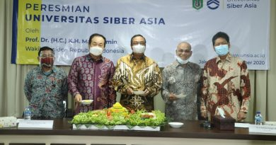 Wapres RI Resmikan Universitas Siber Asia