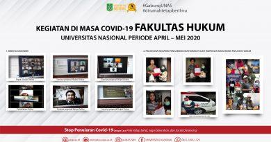 Kegiatan Fakultas Hukum UNAS Selama Masa Pandemi Covid-19