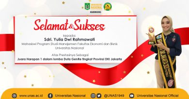 Prestasi Yulia Dwi Rahmawati Mahasiswa Program Studi Manajemeni FEB UNAS