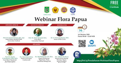 Webinar Flora Papua