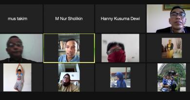 """Kuliah Umum Virtual """"Kedudukan dan Materi Muatan Peraturan Presiden Dalam Sistem Peraturan Perundang-Undangan di Indonesia"""" pada Sabtu (24/10)."""