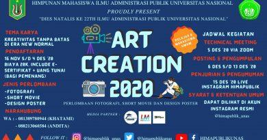 Art Creation 2020 HIMAPUBLIK FISIP UNAS