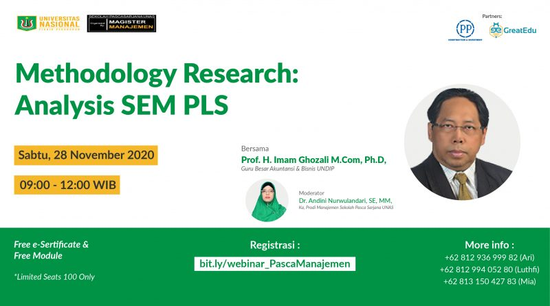 Webinar Methodology Research: Analysis SEM PLS