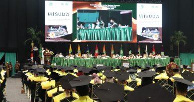 Universitas Nasional Menyelenggarakan Prosesi Wisuda Lulusan Program Pascasarjana, Sarjana dan Diploma 2019/2020 Secara Luring