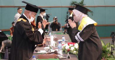 Wisuda Pascasarjana, Sarjana, Profesi dan Diploma Tiga, Periode II Tahun Akademik 2019/2020, Minggu 29 Nopember 2020