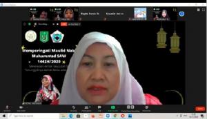 Dekan Fakultas Ilmu Kesehatan Universitas Nasional Dr. Retno Widowati, M.Si.
