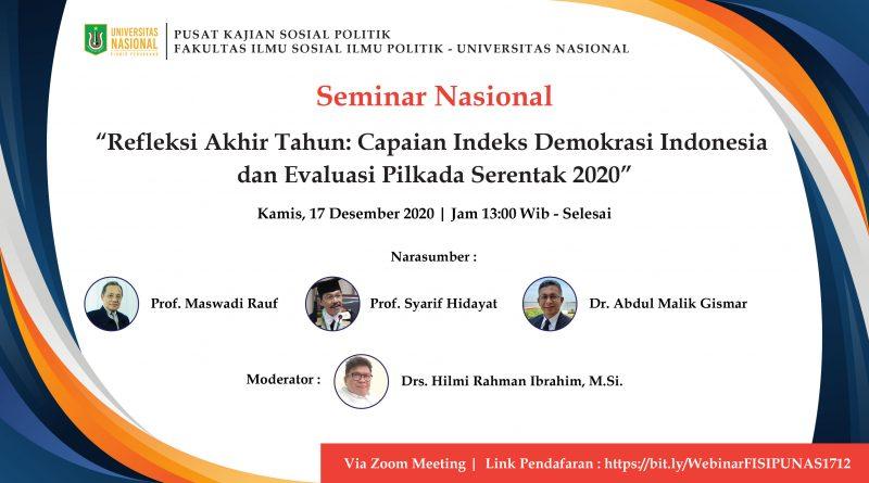 Seminar Nasional PKPA-FISIPUNAS