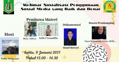 Mahasiswa Ilmu Komunikasi Sosialisasikan Penggunaan Media Sosial Kepada Remaja Yayasan Rumah Ramah Sejahtera