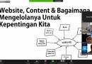 Upaya Realisasikan Pengelolaan Website Secara Mandiri, UNAS Gelar Workshop Pengelolaan Konten