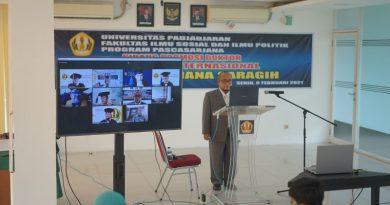 Sidang Promosi Doktor Hubungan Internasional Dr. Hendra Maujana Saragih, S.I.P., M.Si.