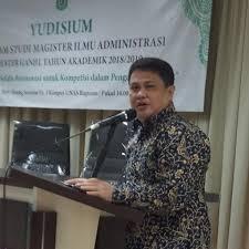 Dr. Zulmasyur, M.Si (Ketua PUSBITEP 2D)