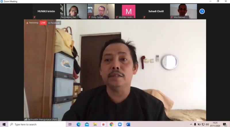 Ketua Pusat Pengajian Islam (PPI) UNAS, Dr. Fachruddin Mangunjaya