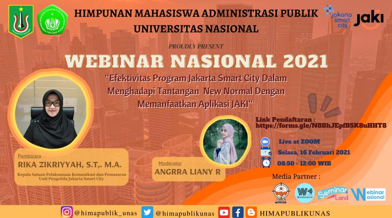 Webinar Bersama Jakarta Smart City 2021