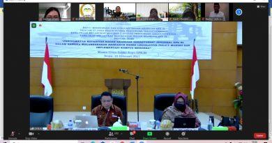 UNAS Berikan Kontribusinya Pada Rapat Koordinasi dan Evaluasi Badan Keahlian DPR RI