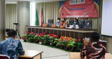 Kegiatan FGD dan Peluncuran Buku Kerjasama Prodi Hubungan Internasional Unas dengan Bank BNI