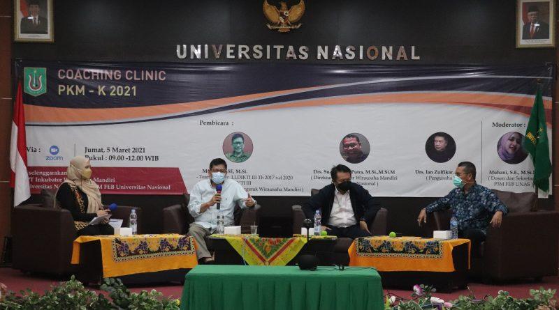 Coaching Clinic PKM-K 2021 diselenggarakan UPT IMW