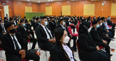 Yudisium Fakultas Hukum Periode Ganjil Tahun Akademik 2020/2021