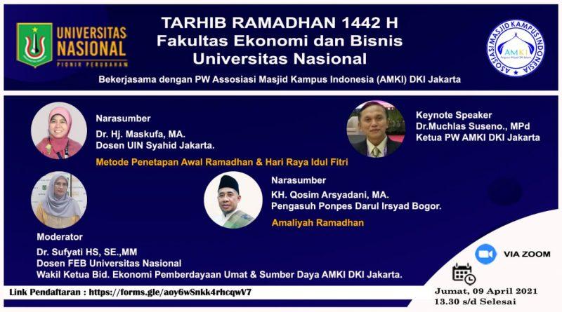 TARHIB-RAMADHAN-1442-H-FAKULTAS-EKONOMI-DAN-BISNIS-UNIVERSITAS-NASIONAL