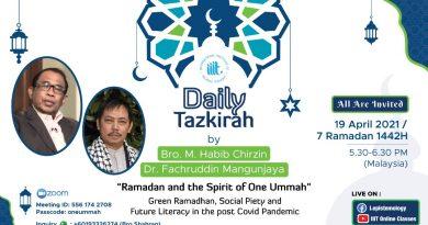 Wujudkan Puasa Ramah Lingkungan MelaluiGreen Ramadhan