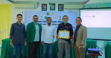 Komit Pulihkan Ekonomi Indonesia Masa Covid, HIPMI PT UNAS Ajak Mahasiswa Berwirausaha