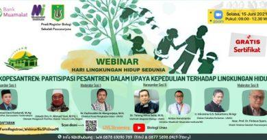 Prodi Magister Biologi UNAS-Webinar Hari Lingkungan Hidup Sedunia (2)