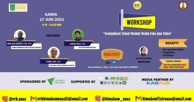 """Workshop """"Komunikasi Virtual Melalui Media Foto dan Video"""" Diselenggarakan oleh HIMAKOM Program Studi Ilmu Komunikasi FISIP UNAS"""