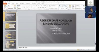 Workshop SPSS HIMAKSI UNAS 2021