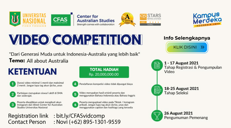 Center-for-Australian-Studies-Video-Competition