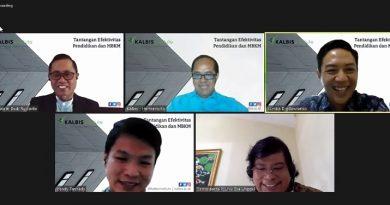 Dekan FEB UNAS dalam Webinar Tantangan Efektivitas Pendidikan & MBKM Kalbis Institut