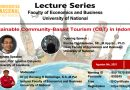 LECTURE SERIES FACULTY OF ECONOMICS AND BUSINESS-UNIVERSITY OF NATIONAL