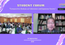 """Webinar Student Forum """"Comparative Analysis on Indonesian and Japanese Society"""""""