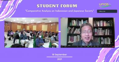 Melalui Student Forum, UNAS-Chuo University Lakukan Studi Komparatif Masyarakat Indonesia dan Jepang