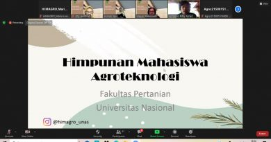 Fakultas Pertanian UNAS Ingatkan Kejayaan Ekonomi Indonesia dari Sektor Pertanian Pada Mahasiswa Baru