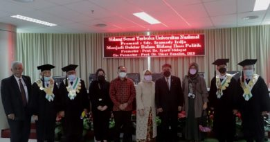 Angkat Revitalisasi Pengembangan Perbankan Syariah di Indonesia, Antarkan Iramady Meraih Gelar Doktor Ilmu Politik