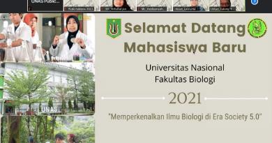 PLBA Fakultas Biologi Semester Ganjil TA 2021/2022