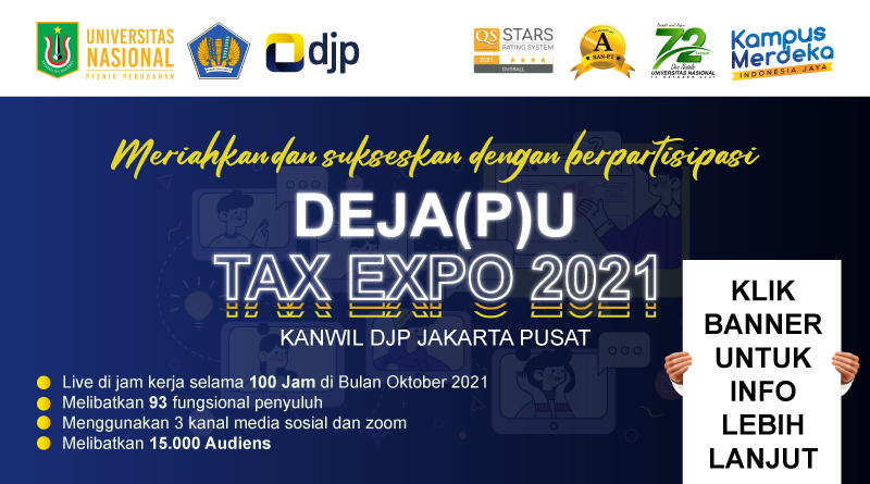 DEJA(P)U-Tax-Expo-2021-Kanwil-DJP-Jakarta-Pusat