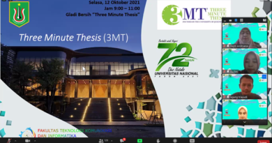 Competition Three Minutes Thesis