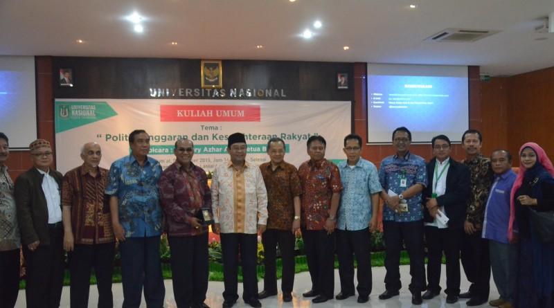 Kuliah Umum Bersama Badan Pemeriksa Keuangan Republik Indonesia