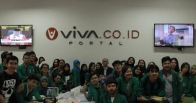 {:id}Kunjungan Kelas Ilmu Komunikasi ke VIVA{:}{:en}Class visits to VIVA Communication Sciences{:}